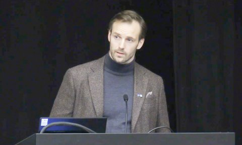 Budsjettenighet: Geir Kjeldaas med kommunestyremedlem i Randaberg for Senterpartiet.