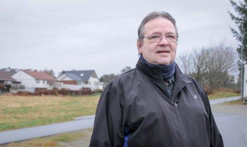 Nærbutikk ved hagebyen: Erik Leirvik er glad for initiativet til Norgesgruppen om å etablere nærbutikk ved Endrestø og Viste Hageby. På veien kommer han med et alternativt forslag til plassering.