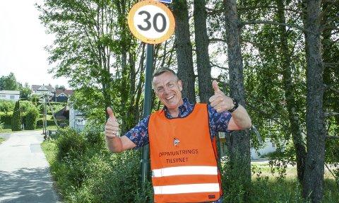Alder uvesentlig: Terje Ingvoldstad fyller 50 år, men føler han like gjerne kunne blitt 30.