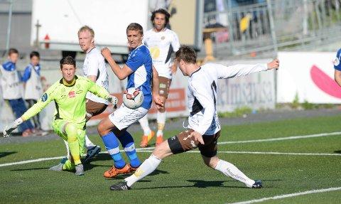 50e22892 STORE SJANSER: MIF hadde stoe sjanser til å score flere enn to mål mot  Ranheim