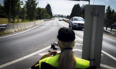 Fylkesvei 283 mellom Drammen og Mjøndalen er blant UPs prioriterte strekninger.