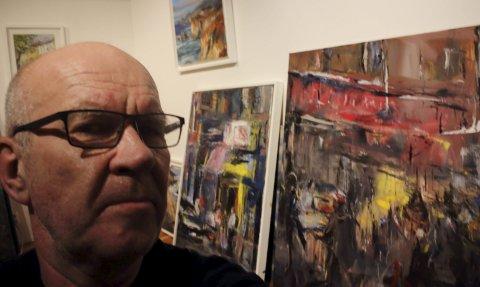 UTSTILLING: Bjarne Svanøe skal ha utstilling på Kystmuseet, og fleire av bildene er under produksjon no. Foto: pressefoto