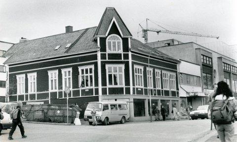 Haavehuset før Windjammer flytta inn, og Cubus flytta ned på Snorre.