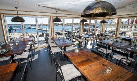 NYÅPNET: Nyåpnede Losen på Skjærhalden besto emd glans da kontrollørene fra Mattilsynet var innom 24. juli. Nå har restauranten fått sitt første smilefjes etter åpningen tidligere i år.