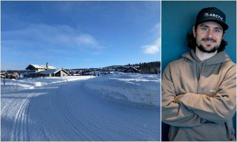 Mats Zuccarello har kjøpt hyttetomt i dette hyttefeltet på Mosetertoppen i Hafjell.