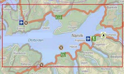 Ofoten beskrives av Petter Jansen som et av de mest kompakte logistikkområdene i landet.