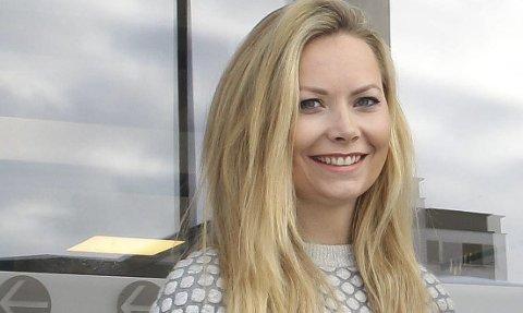 PÅ PLASS: Lill Susan Fjeld, Kongsvinger kommunes nye kommunikasjonsrådgiver.