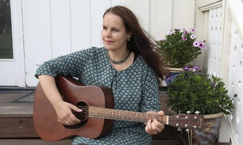 NYTT ALBUM: «Noen ord i kveld» har Birgit Brinck kalt sitt fjerde album.