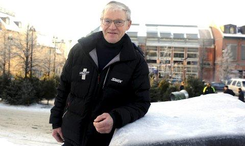 John Birger Skansen fra Rudsbygd IL er tildelt Tillitsmannskruset for 2017. Foto: Hans Bjørner Doseth