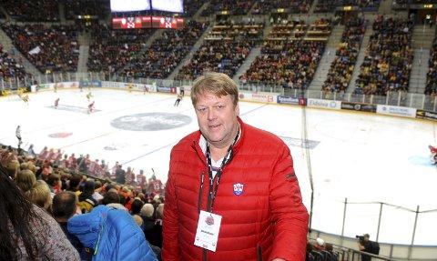 Prosjektleder Kjell Stenberg var meget godt fornøyd med den andre utgaven av Hockey Classic. – Dette må vi fortsette med, understre  ker han.