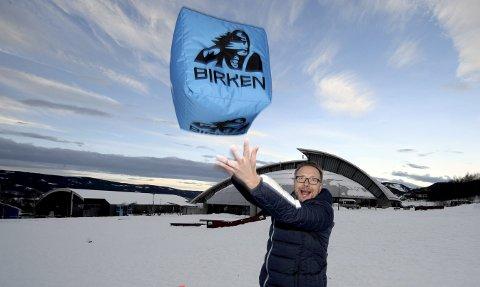 VIL GI BIRKEN ET PUFF: Eirik Torbjørnsen har tatt fatt på sin nye jobb som daglig leder i Birken. – Vi må selvsagt hele tiden se framover og sette oss nye mål, sier Torbjørnsen.