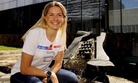 Marthe Bjørnsgaard har fått trent i vår og sommer uten noe tull av noe slag og håper hun kan ta ytterligere ett steg til vinteren. Begge foto: Hans Bjørner Doseth