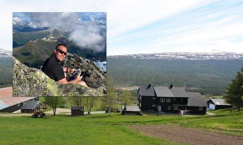 ODELSGUTT: Per Einbu (39) har vokst opp på gården i Lesja.