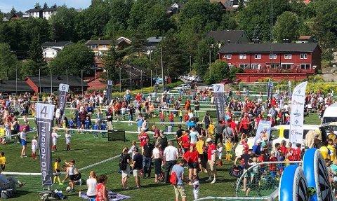 3v3: Dette bildet er fra en turnering i Nittedal i fjor. Foto: 3v3 Norge AS