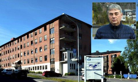 LAGT INN: Kommuneoverlege Stefan Løvsletten i Nordre Land er lagt inn på Gjøvik sykehus for å få nødvendig behandling på grunn av koronaviruset.