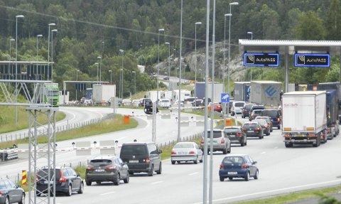 TRAFIKK: Mer trafikk har gitt mer penger.