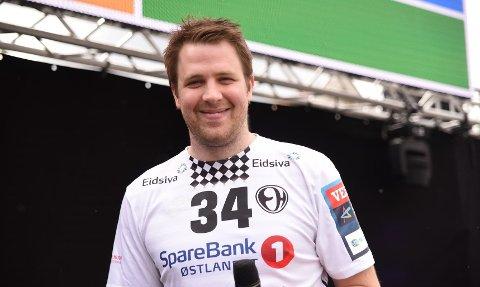 ELVERUM-SJEF: Den tidligere HTH-profilen Mads Fredriksen er i dag daglig leder i Elverum Håndball, som i september møter verdens beste håndballag PSG.