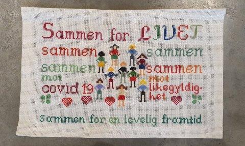 SAMMEN: Et budskap om samhold.