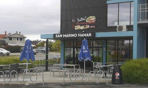 FORSINKET: San Marino Hamar blir Khalles Corner og daglig leder Tormod Kalland hadde opprinnelig planer om åpne i oktober, men han antar at det blir nærmere jul.