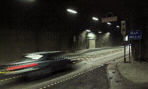 ILLUSTRASJONSFOTO: Bømlafjordtunnelen.