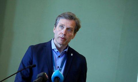 KOMMUNEDIREKTØR: Ole Bernt Thorbjørnsen og Haugesund kommune har ikke full oversikt over situasjonen. Onsdag kan streiken øke i omfang.