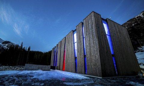 NOMINERT: Øvre Forsland kraftverk i Leirfjord er nominert til Nord-Norsk Arkitekturpris for 2015. Foto: Geir Edvardsen