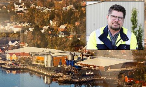 SATSER: Steinar Anshus (innfelt) trenger flere ansatte på Hemnesberget. – Vi har allerede et flerkulturelt miljø med ansatte fra mange nasjonaliteter, sier han.