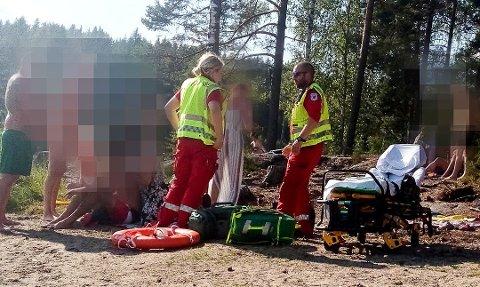 Aurskog-Høland kommune ber Telenor bedre dekningsforholdene rundt Røytjern, etter at en mann holdt på å drukne i sommer. Foto: Indre-tipser