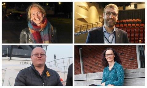 MEDDOMMER: Hanne Wiig, Stig Sørra, Svein Gunnvald Rosenvinge og Hege Antonsen er fire av de som har blitt foreslått som meddommere for perioden 2021-2024.