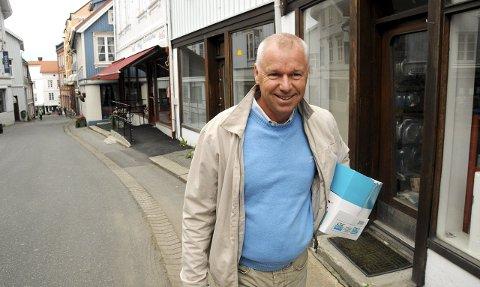 Vil ha tak i: Bjørn Andersen i Kragerø Gårdeierforening og Visit Kragerø ønsker å komme i kontakt med folk som går med tanker om å åpne forretning/næring.