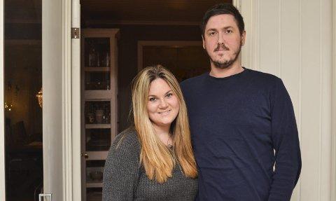 Tilbakemeldinger: Kent Johansen og Anne Mette Lie Johansen hadde ikke gaver i eldstesønnens femåsbursdag. Det har de fått mange positive reaksjoner på.