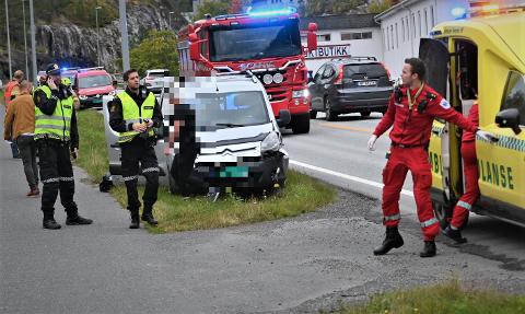 ULYKKER: Det har vært mange ulykker på Sluppan, og flere opplever at det føles skummelt å kjøre der. FOTO: Nils Jul Lande