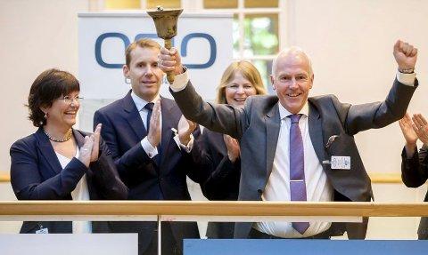 Vistin Pharma og administrerende direktør Kjell Erik Nordby hadde en god dag på Oslo Børs fredag. (Arkivfoto)