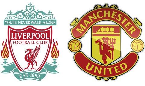 Rivalar: Liverpool er klar serieleiar i Premier League, medan Manchester United famlar lengre bak. I Kvinnherad er det heilt likt mellom dei to engelske klubbane med dei største troféskapa.