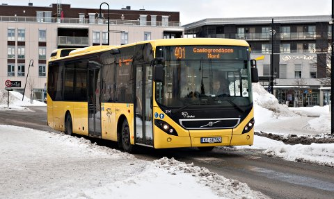 1,6 MILLIARDER: Buskerud fylkeskommune satser mye penger på kollektivtransport.