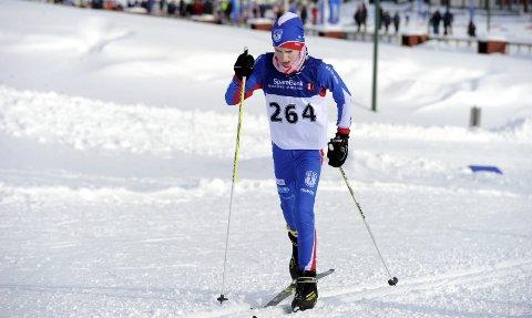 FØRSTEREIS: Eivind Sebastian Fredriksen debuterte i helga i Hovedlandsrennet. Alle foto: Svein Halvor Moe