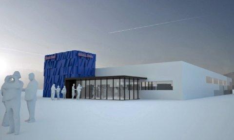 Slik ser Rema Utvikling Nord AS for seg sin butikk nummer to på Leknes.