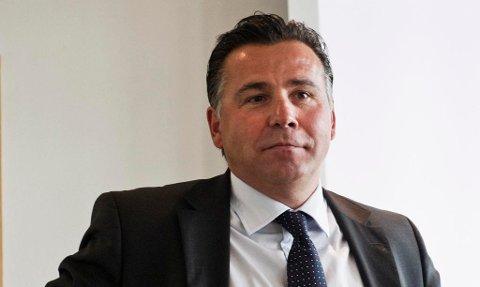SAS-SJEF: Robin Kamark fra Moss er spilt inn som en mulig SAS-sjef.