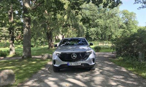 ECQ er den første bilen ut i en rekke elbiler fra Mercedes.