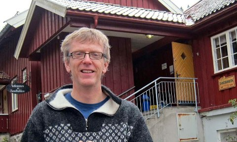 …. og Even Saugstad forteller spøkelseshistorier fra marka.