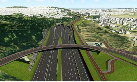 Prosjektet E6 Oslo Øst innebærer blant annet en tunnel, som har fått tilnavnet Manglerudtunnelen.