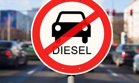 STUPER: Dieselbil-salget i Norge stuper.