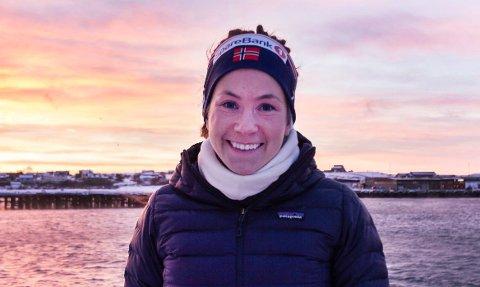 GLAD: Kristin Harila (34) skal bare gå opp verdens høyeste fjell før hun går i gang med sin nye bedrift.