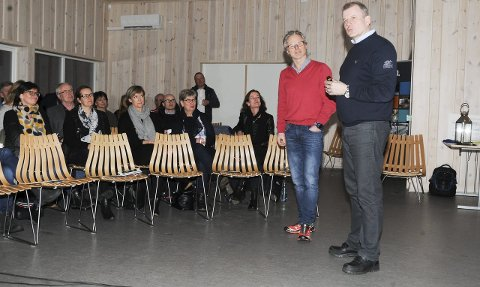 Stor betydning: Åge Skinstad og Erik Røste mente ski-NM på Lygna gir en unik mulighet til å profilere hele Hadelandregionen.