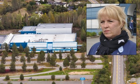 AVVERGET: Tillitsvalgt ved Hapro Electronics, Gro Anita B. Hagaseth var forberedt på en streik, men glad partene ble enige.