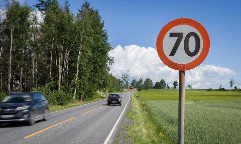 70-sonen i nordgående retning i Løkenveien er kun 100 meter lang.