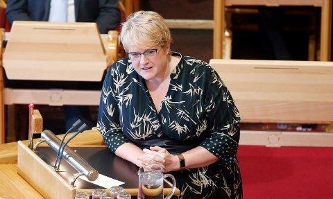 KULTURMINISTER: – Om ønskelig, ta kontakt med kontoret mitt, jeg har ikke tid, får Porsgrunn kommune opplyst fra Skei Grande.