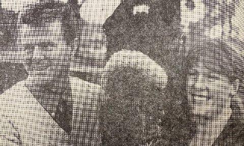 HEST: Hesten Ludensian sammen med «far» Tor og «matmor» Jorunn.