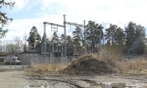 GJØMLE: Det ligger en trafostasjon på Gjømleåsen.