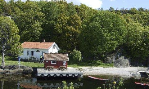 REHABILITERER: Kommunen har fått 125.000 til å rehabilitere sivområde i Sildevika.